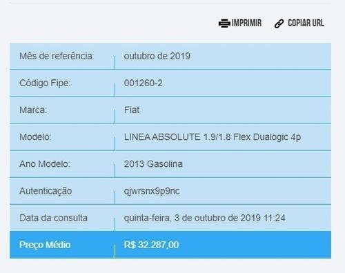 fiat linea 1.8 16v absolute dualogic