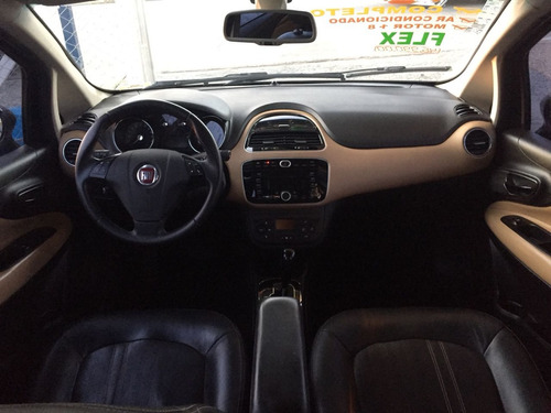 fiat linea 1.8 16v absolute flex dualogic 4p