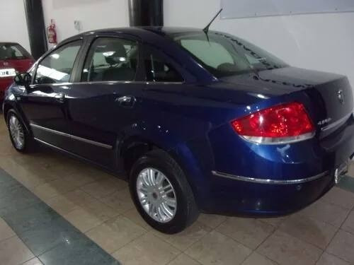 fiat linea 1.9 essence azul 2009 impecable financiamos