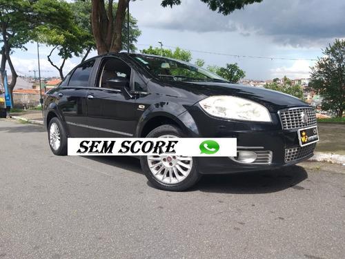 fiat linea 2010 completa financiamento com score baixo palio