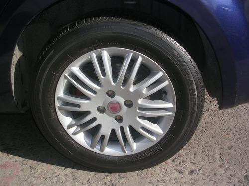 fiat linea essence 1.9 n 132cv azul 2009 4p