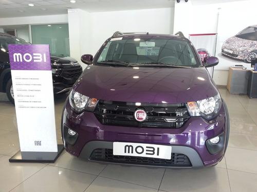 fiat mobi 0km 2018 - anticipo 33.000 o entrega tu usado x4