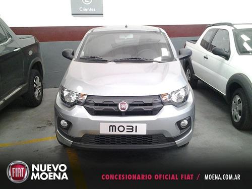 fiat mobi 1.0 2017 gris 5 puertas 0km