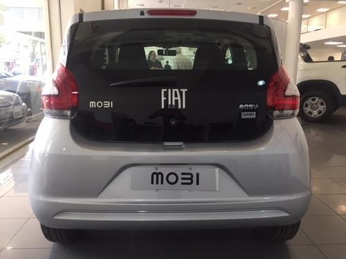 fiat mobi 1.0 anticipo $75.000 o usado y cuotas tasa 0% e-