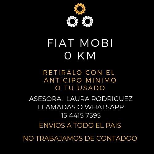 fiat mobi 1.0 easy pack retira con 70.000 l