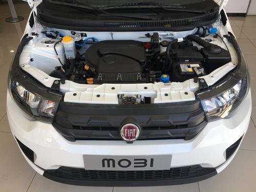 fiat mobi 1.0 easy pack top gris 5 puertas 0 km my 2019