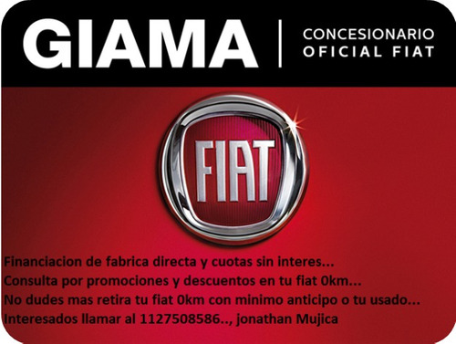 fiat mobi 1.0 easy pack top retiro inmediato con 30mil j