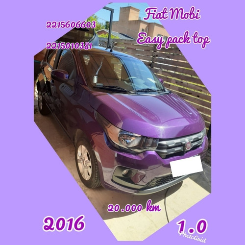 fiat mobi 2016 1.0 easy pack top