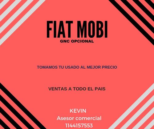 fiat mobi 2020 0km - ideal uber - tomo tu usado *