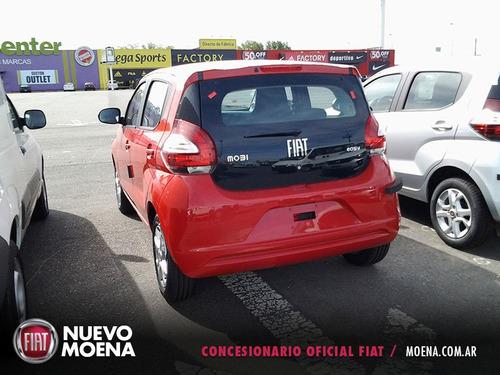 fiat mobi easy 1.0 color rojo 2017 5 puertas