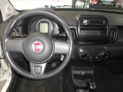 fiat mobi easy 1.0 flex 2018 branco air bag/abs