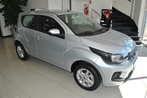 fiat mobi easy pack top 2019 gris 0 km