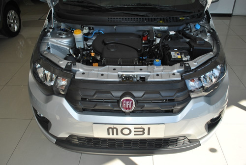 fiat mobi easy pack top 2020 gris 0 km