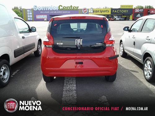 fiat mobi easy top 1.0 color rojo 2017 5 puertas