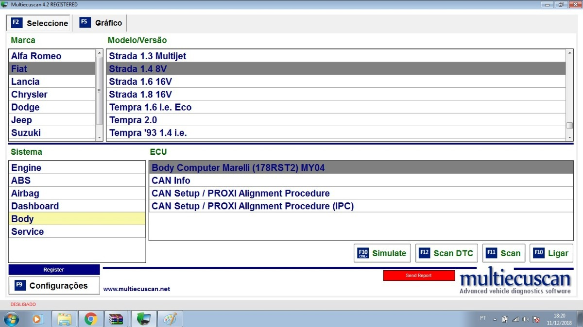Fiat Multiecuscan 4 2 Novo Renegade Toro Elm327 Software