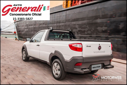 fiat nueva strada working 0km 2017 1.4 cabina simple  #ca1