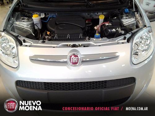 fiat nuevo palio attractive 1.4 2017 gris 5 puertas anticipo