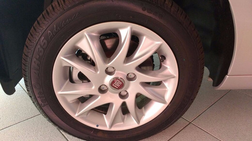 fiat nuevo palio attractive gris motor 1.4 2017 autonovo s.a