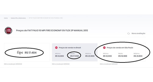 fiat palio 1.0 mpi fire economy 8v flex 2p manual 2012