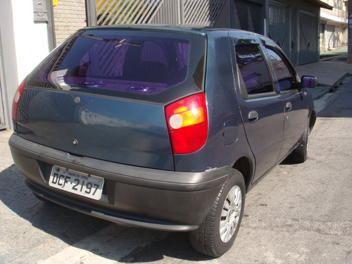 fiat palio 1.0 young 5p gasolina com som e trava multilock