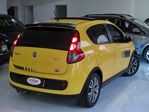 fiat palio 1.6 mpi sporting manual 2015 amarelo teto solar