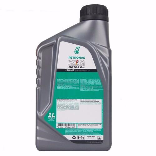 fiat palio 1.8 8v óleo selenia k 15w40 original + kit filtro