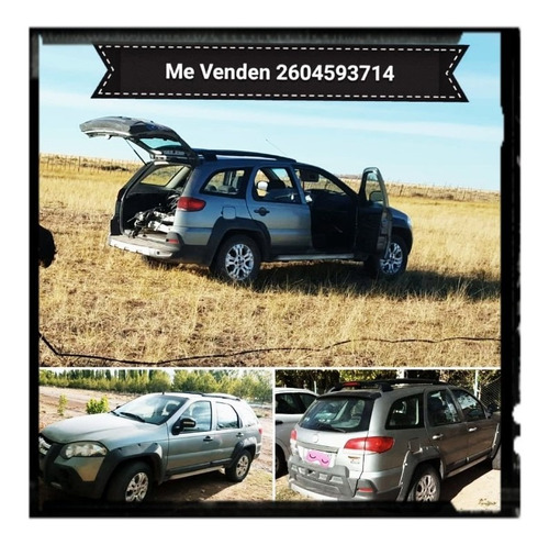 fiat palio 1.8 adventure locker 2008