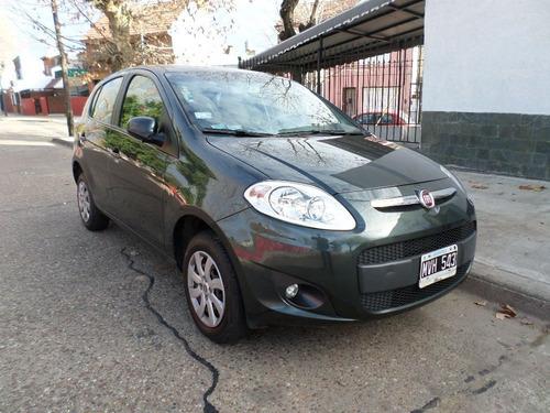 fiat palio attractive 1.4 verde oscuro 2013 5 puertas 1 mano