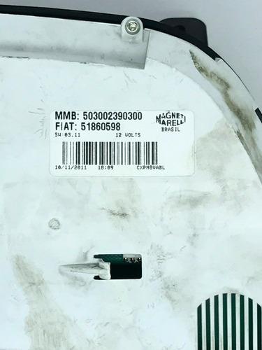 fiat palio doblo painel velocimetro conta giros rpm 51860598
