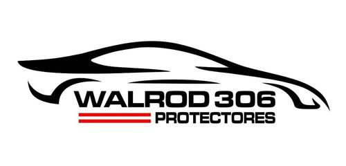 fiat palio fire protectores de paragolpes premium negros walrod306