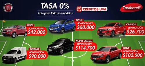 fiat - plan adjudicado de toro !! $250.000 + cuotas!!