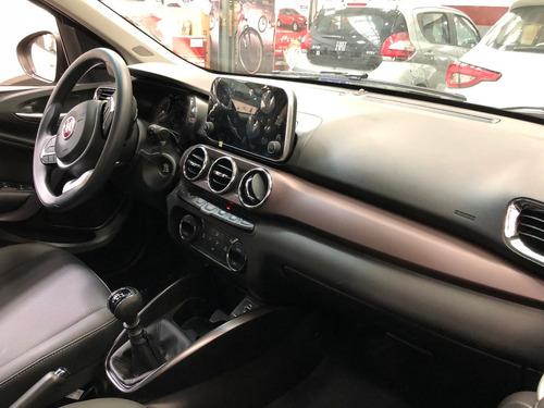 fiat - plan cronos drive 1.3 0km turquesa 5 puertas