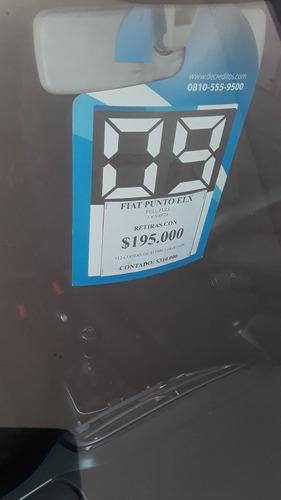 fiat punto 1.4 elx 2009 full permuto financio