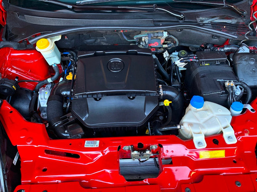 fiat punto 1.6 16v essence dualogic rojo, impecable!!