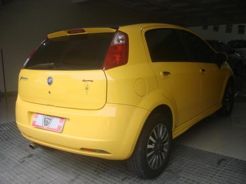fiat punto 1.8 sporting flex 5p amarelo 2008
