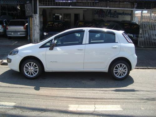 fiat punto 2013 1.4 attractive  branco - esquina automoveis
