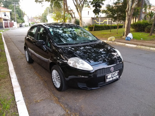 fiat punto attractive 1.4 flex  2011