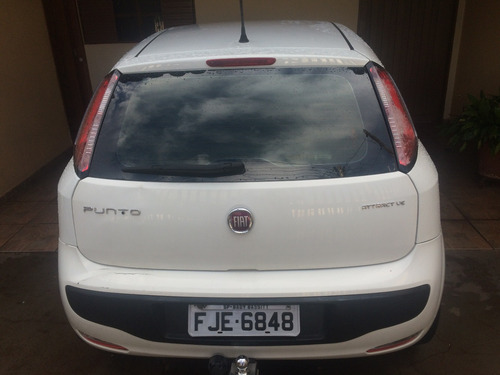 fiat punto attractive 1.4 flex 8v 5p - 2013