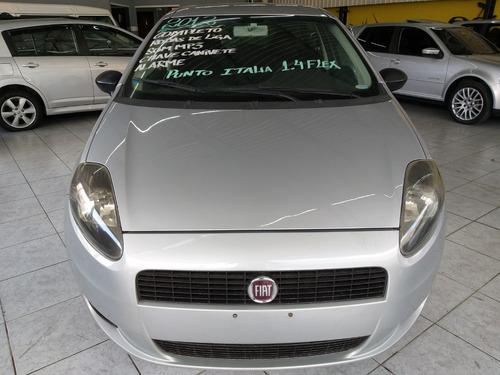 fiat punto attractive italia 1.4 flex 2012 completo