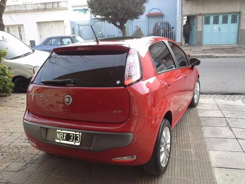 fiat punto essence 1.6 2013 rojo 5 puertas