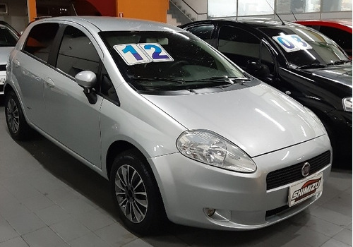 fiat punto  essence 1.8 16v (flex) flex manual