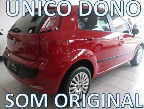 fiat punto italia 1.4 flex com som original unico dono