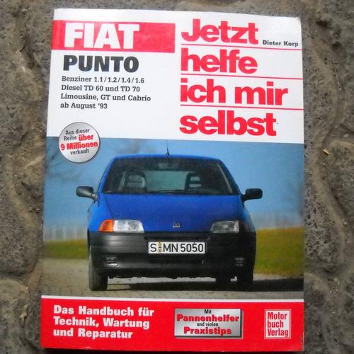 fiat punto manual de taller, motor buch verlag 1998
