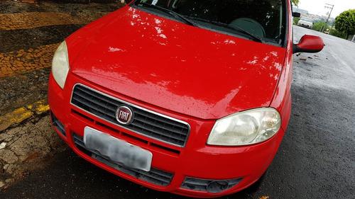 fiat siena 1.0 2011 vermelho 4 portas sedan. único dono!