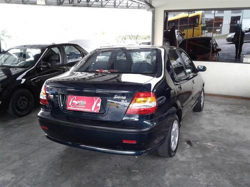 fiat siena 1.0 mpi fire elx 16v gasolina 4p manual 2001/2002