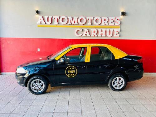 fiat siena 1.4 el attractive (taxi c/licencia) 2016