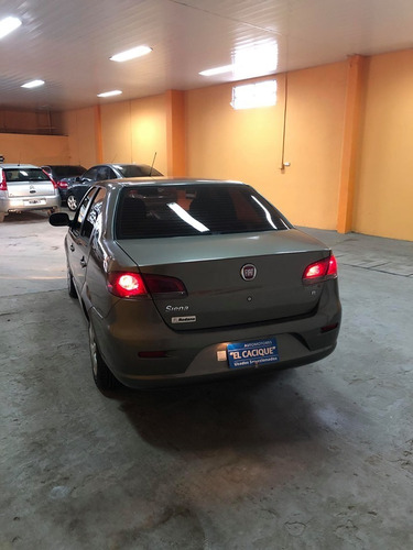 fiat siena 1.4 el modelo 2014 color marron