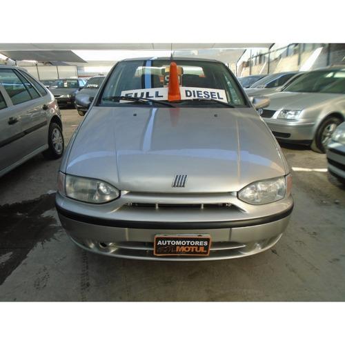 fiat siena 1.7 hl 1999 diesel financiamos