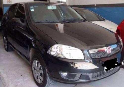 fiat siena 2014 f4 linea nueva full,negro original,no taxi