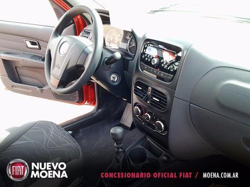 fiat siena el 1.4 0km 2017 rojo 4 puertas anticipo